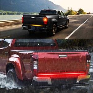 "Image 5 - Niscarda 60"" 432 Led Tailgate Truck Light Strip Bar Waterproof 5 Function Reverse Taillight Brake Stop Turn Signal Warning Light"