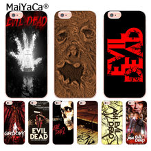 MaiYaCa The Evil Dead tv Newest Fashion Luxury phone case for Apple iPhone 8 7 6 6S Plus X 5 5S SE XR XS XS MAX Mobile Cover(China)