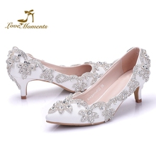 b26855f919 Buy 2 inch wedding shoes and get free shipping on AliExpress.com