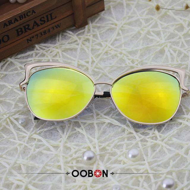 Big Round Frame Sunglasses 12 Colors Summer Cat Eye Sunglasses Women Brand Designer