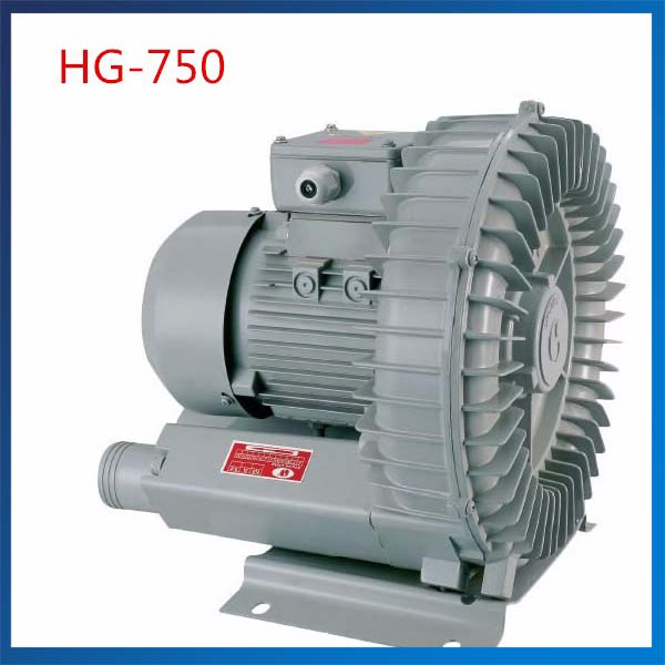 HG-750 50HZ/60HZ Vortex Blower Side Channel Blower Vacuum Pump 120M3/H Electric Air Pump