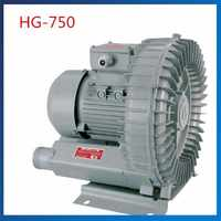 HG-750 50HZ/60HZ Vortex Blower Side Channel Blower Vacuum Pump 120M3/H Electric Air Pump