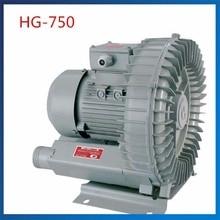 HG-750 50 Гц/60 Гц вихревая воздуходувка вакуумный насос 120м3/ч Электрический воздушный насос