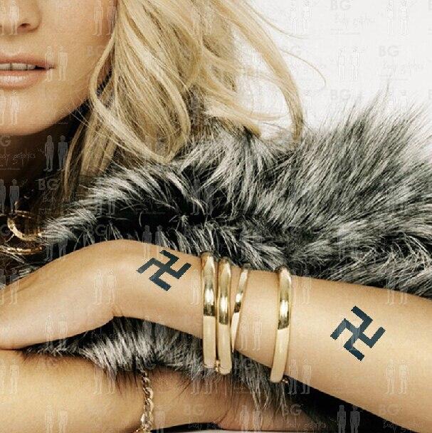 Tattoos Tattoo Stickers Body Graphics Waterproof Buddhist Symbol In