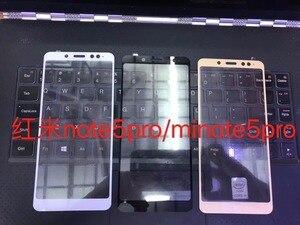 Image 3 - 3D Vetro Temperato per Xiaomi Redmi Nota 5 Della Copertura Completa 9H a Prova di Esplosione Pellicola Della Protezione Dello Schermo per Redmi nota 5 Pro