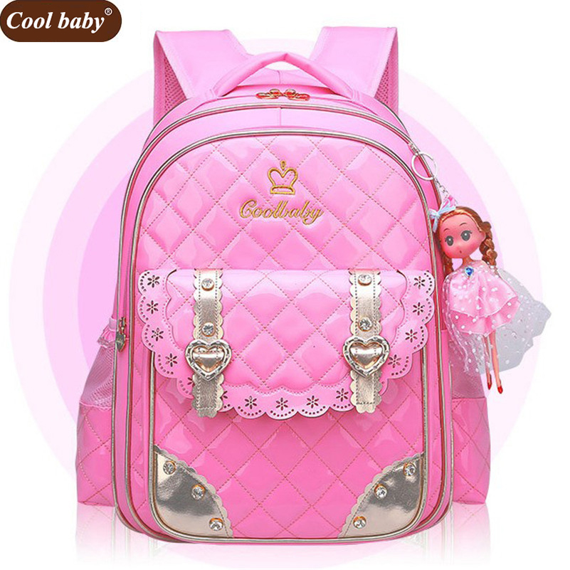 Coolbaby New School Bags for Girls Brand Women Backpack Cheap Shoulder Bag  Fashion Wholesale Kids Backpacks D267-in School Bags from Luggage   Bags on  ... fc8c51ef1279f