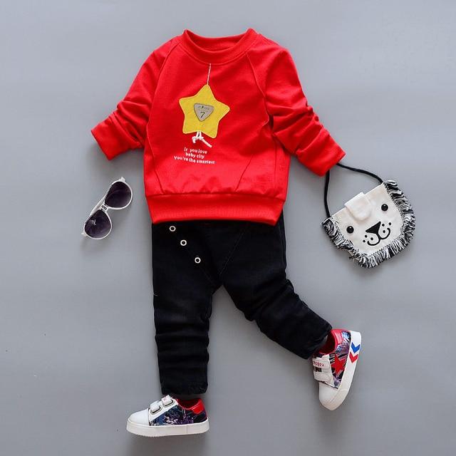 a37aae64f82a BibiCola Baby Boy Clothes set Bebe Sport Suit Boys Fashion Clothing ...