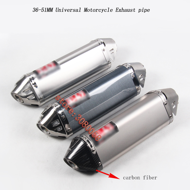 Universal Motorcycle Exhaust Pipe Escape Modified Heat Shield Cover Carbon Muffler DB Killer Sticker Silence For Kawasaki z750