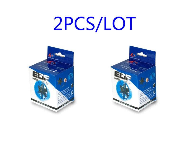 2 pcs/lot Breveté Produit Canalisé Ventilateur Système FED pour Jet Avion 27mm/30mm/35mm/40mm/45mm/50mm/55mm/64mm/70mm avec Moteur brushless