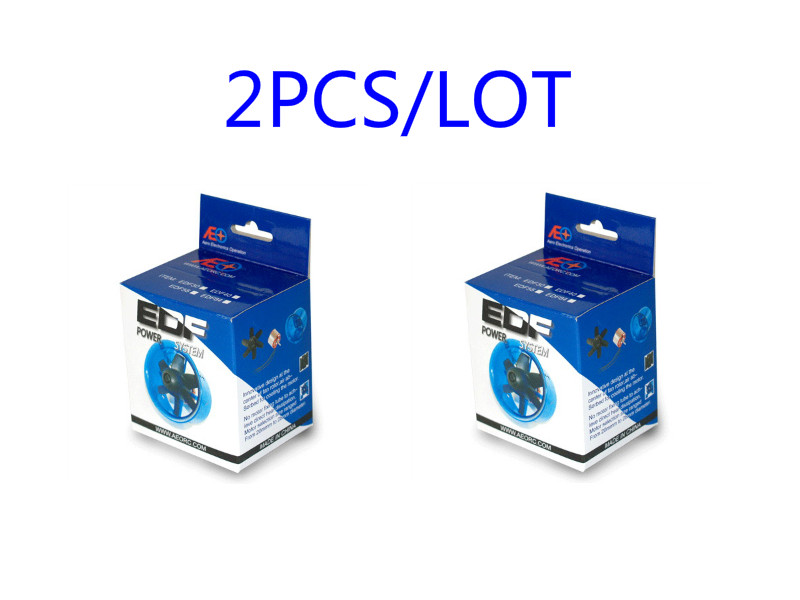 2pcs/lot Patended Product Ducted Fan System EDF For Jet Plane 27mm/30mm/35mm/40mm/45mm/50mm/55mm/64mm/70mm With Brushless Motor