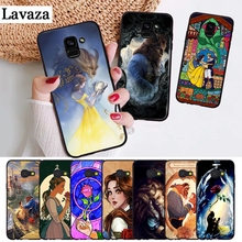 Beauty Beast Rose Princess Silicone Case for Samsung A2 Core A3 A5 A6 Plus A7 A8 A9 A10 A30 A50 A60 A70 A10S A30S A50S A70s beauty core
