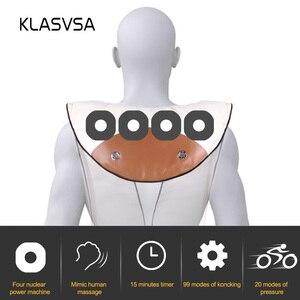 Image 2 - KLASVSA Electric Neck Shoulder Knocking Massager Shawl Cervical Back Waist Lumbar Massage Cape Device Health Care 4 KnockHeads