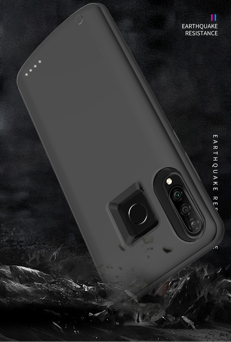 Slim Shockproof Battery Charger Case For Huawei Honor 20i 10i Power Bank Pack Case For Huawei P Smart Plus 2019 Charging Cover