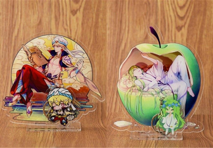 Bag Parts & Accessories Japan Original Fate Grand Order Fgo Keychain Anime Solomon Game Acrylic Pendant