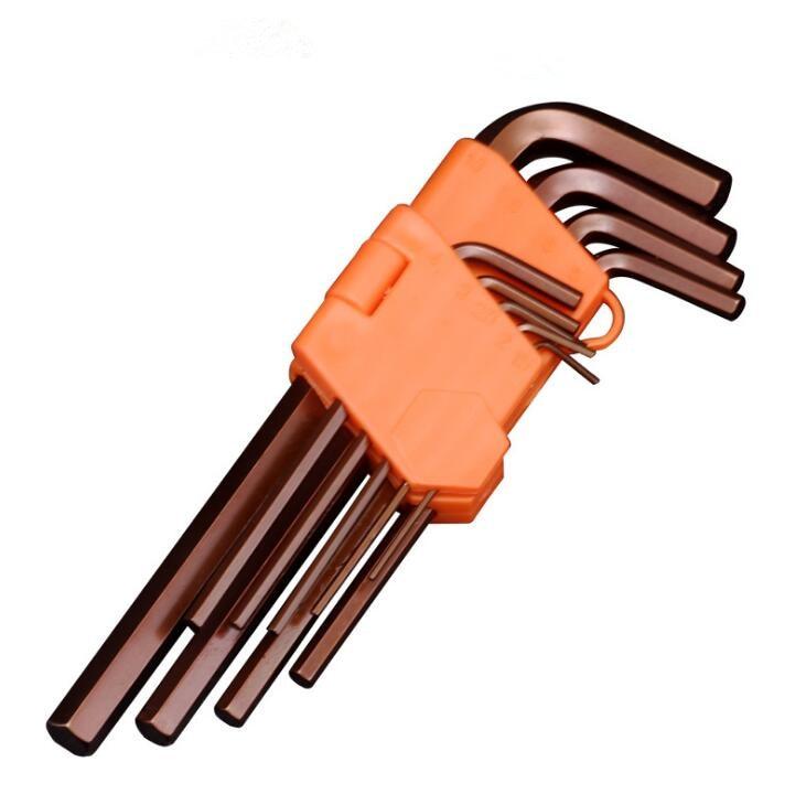 Torque Repair Tool Spanner Set 9Pcs/set Double Wrench Set S2 Hex  Key Socket