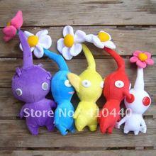 Желтый Красный Синий Фиолетовый Белый Nintendo Pikmin Цветок Плюшевые Игрушки Прекрасный Подарок Для Детей