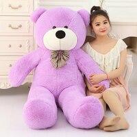 Большая распродажа 220 см гигантский плюшевый мишка ОГРОМНЫЙ большой плюшевый медведь игрушки животные плюшевая Жизнь Размер Детские куклы