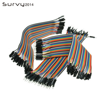 цена на Dupont Line 10cm/20CM/30CM Male to Male+Female to Male + Female to Female Jumper Wire Dupont Cable for arduino DIY KIT
