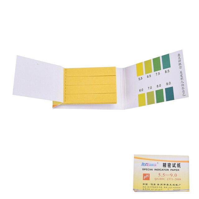 PH test strips 80 Strips Litmus Testing Test Kit Paper Urine Saliva Acid Alkaline Measurement Analysis Instruments 2 Sets