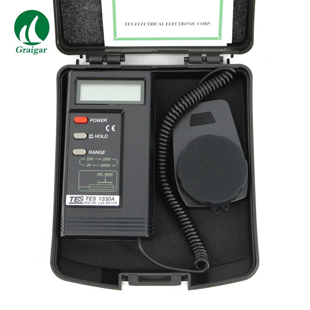 Digital Lux Meter TES-1330A Light Luminance Luxmeter все цены