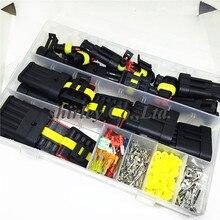 240 шт. Superseal AMP Tyco Водонепроницаемый 12 в комплекты разъемов для электрических проводов с обжимным наконечником и предохранителем для автомобиля маленький средний размер