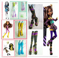 Free Shipping Genuine  5 Styles Boots shoes for Original Monster High ,Accessories High Heels 5pairs/lot