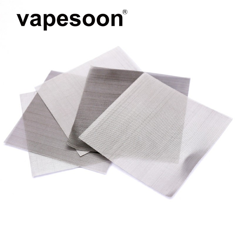 (5pcs/pack) 50*50mm stainless steel ss 316L Mesh Coil for Mesh RDA Atomizer DIY Heating Wire Assembly Mode Vaporizer цена
