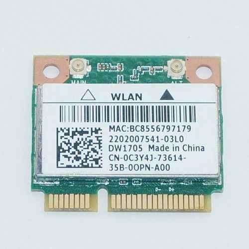 Detail Feedback Questions about QCWB335 DW1705 C3Y4J Wireless WIFI