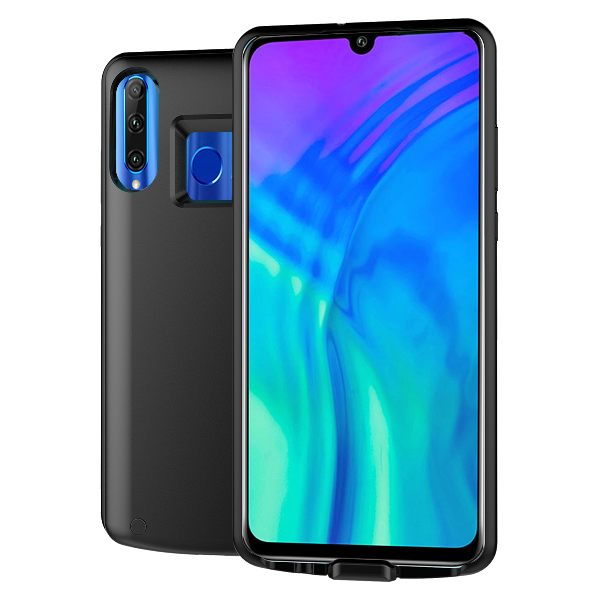 For Huawei Honor 10i 20i Case Battery 6500mAh Extended Charger Power Bank Cover Rechargeable Bracket Battery Case For Honor 10i