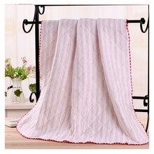 купить 2018 Baby Blanket Children's bath towel Cotton Multi-layer Thick Newborn Swaddling Autumn Baby Swaddle Bedding Warm quilt дешево