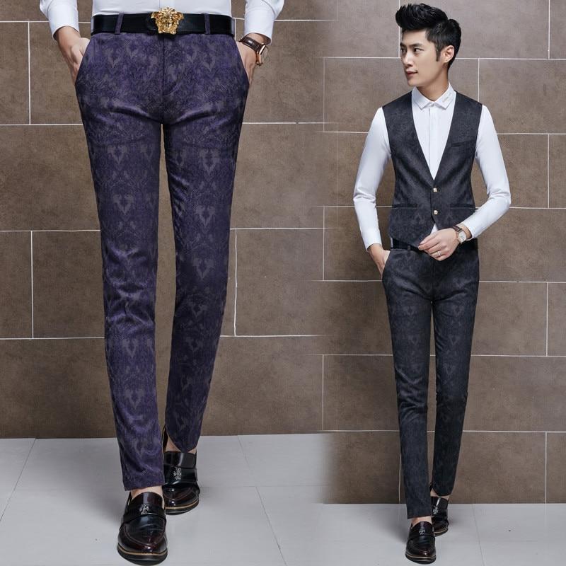 Purple Dress Pants Men Promotion-Shop for Promotional Purple Dress ...