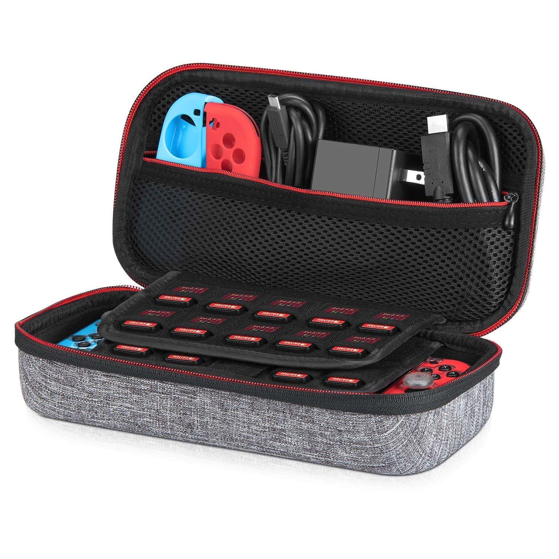 Keten portable organisateur de jeu cas voyage sacs de transport pour nintendo Switch console de jeuKeten portable organisateur de jeu cas voyage sacs de transport pour nintendo Switch console de jeu