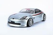 S048 350z 1/10 1:10 PVC carrocería pintada para 1/10 manía DEL RC racing car 2 unids/lote envío gratis