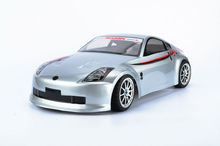 S048 350z 1/10 1:10 PVC painted body shell for 1/10 RC hobby racing car 2pcs/lot free shipping