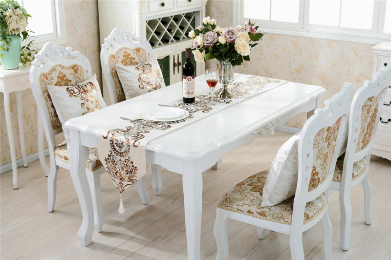 Luxury European Style Table Runner Party Wedding Decoration