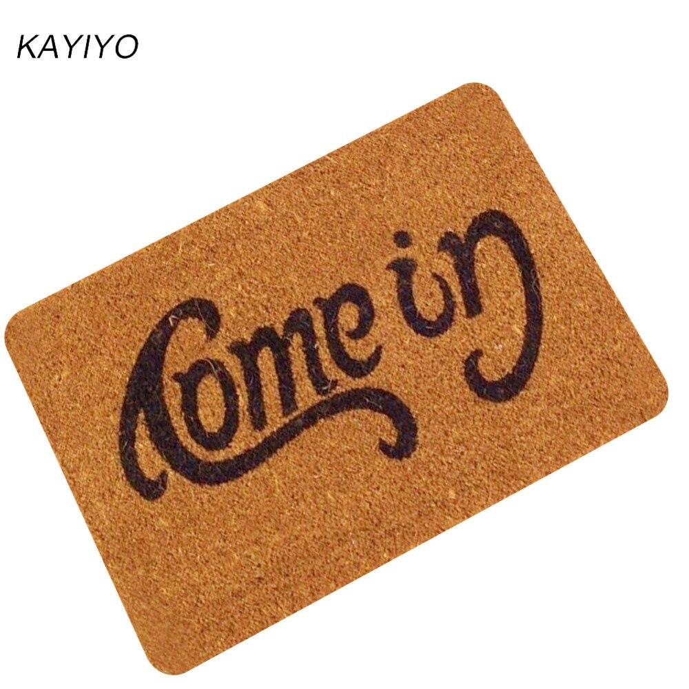 L022-KAYIYO Door Mats Rubber Carpet Entrance Indoor Floor Mat Non-slip Doormat Rug Outdoor Indoor Rubber Mat Non-woven Fabric Mat (11)