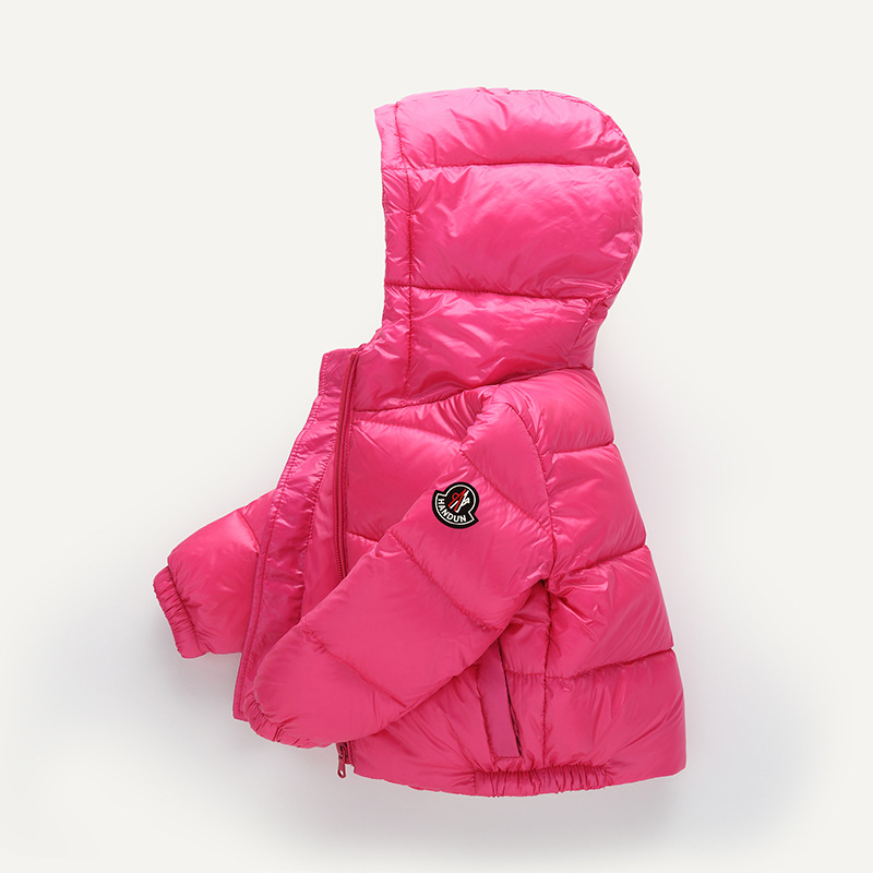 Bibicola boys winter jacket  hooded new 2018 kids girls  coat windproof children down parkas outwear warm clothes