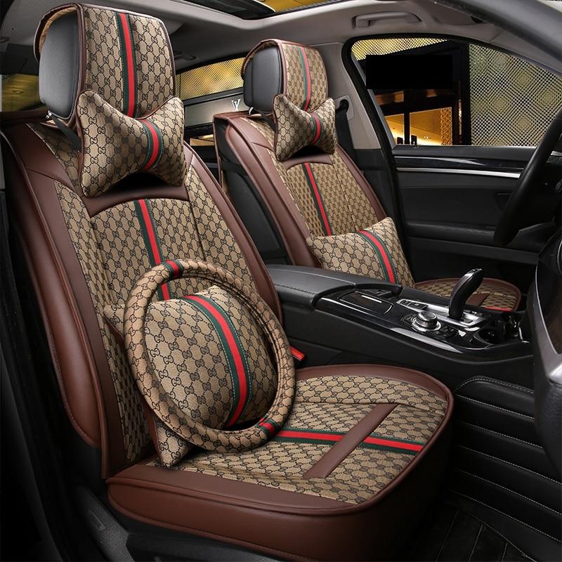 Car seat cover auto seat protector For Hyundai santa fe solaris sonata tucson 2017 2016 2015 2014 2013 2012 2011 2010 2009 2008