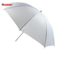 Hanmi 83 см 33 дюйма портативный белый рассеиватель для вспышки мягкий Отражатель Зонтик светильник для фото зонтик для фотостудии Аксессуары