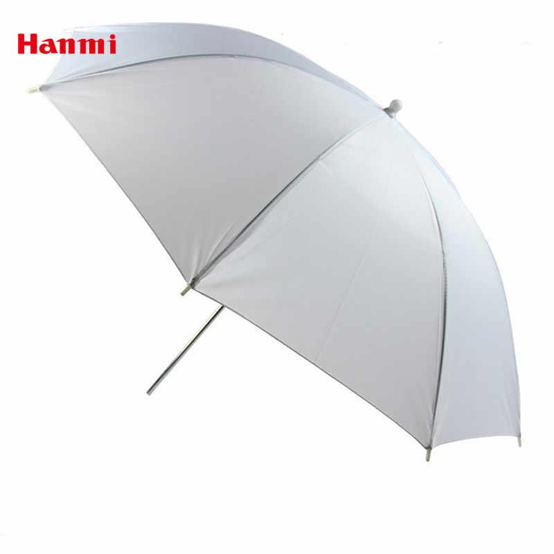 Hanmi 83 см 33 дюймов портативный белый Рассеиватель Вспышки мягкий отражатель фото зонтик свет Фото Зонтик для фотостудии Аксессуары
