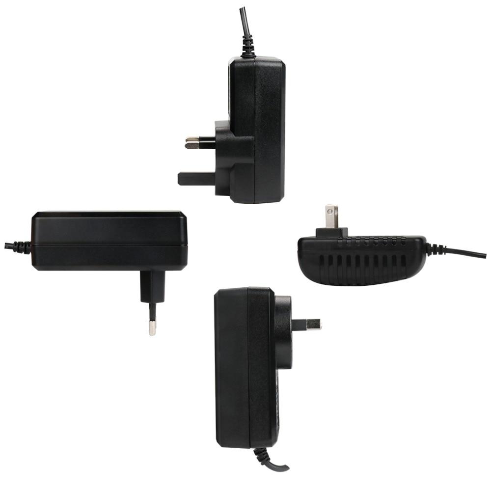 TMEZON EU US AU UK AC Camera Power Adapter Input 100-240V DC 12V 2A Work For CCTV Camera Video Recorder DVR NVR Universal