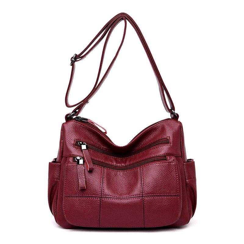 0cda8a6ebf59 Красная женская сумка маленькая Женская откидная сумка Роскошные сумки для  женщин дизайнерские женские ...