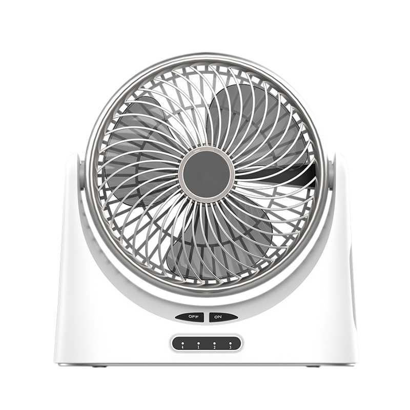 HOT!Usb Desk Fan Small Personal Air Circulator Fan Portable Electric Table Desktop Fan Rechargeable Travel Fans For Camping Of