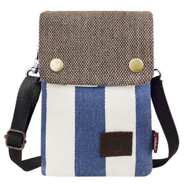 f7244fb6fc08e7 Canvas Small Cute Crossbody Cellphone Pouch Purse Wallet Bag with Shoulder  Strap for Girls Women Teen