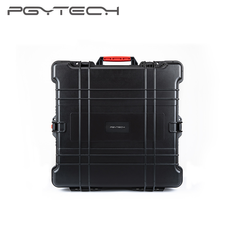 PGYTECH maleta de viaje portátil EVA funda de transporte de seguridad para DJI Inspire 2 funda Drone Caja impermeable bolsa de almacenamiento Accesorios
