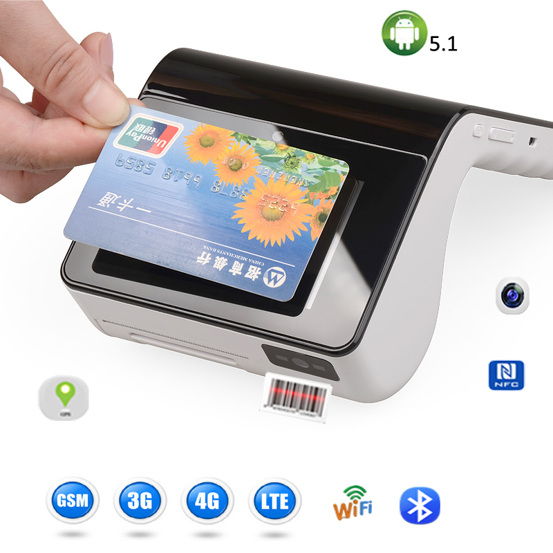 US $320 0 |Handheld android wifi lottery pos terminal with 58mm built in  receipt printer-in Printers from Computer & Office on Aliexpress com |