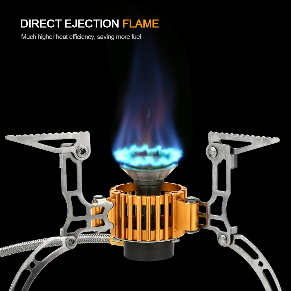 Awe Inspiring Us 15 79 34 Off Tomshoo Outdoor Camping Lightweight Portable Gas Stove 2800W Portable Gas Multi Fuel Stoves Camping Cooking Stove With Case In Interior Design Ideas Clesiryabchikinfo