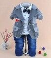 1-4Y meninos homens cavalo de madeira define crianças roupas conjunto casaco