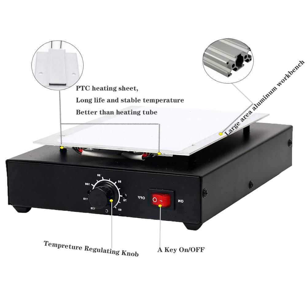Vacuum Laminating Machine With LED Display And Auto Heating Metal Plate 5