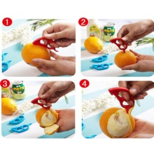 "Fruit Peeler for ""wholesome"" fruits."